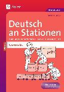 Cover-Bild zu Deutsch an Stationen spezial: Grammatik 3/4 von Knipp, Martina