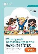 Cover-Bild zu Wirkungsvolle Nachdenkaufgaben für Unruhegeister von Vetter, Alexandra