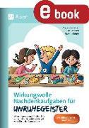 Cover-Bild zu Wirkungsvolle Nachdenkaufgaben für Unruhegeister (eBook) von Vetter, Alexandra