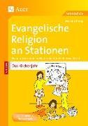 Cover-Bild zu Evangelische Religion an Stationen Das Kirchenjahr von Knipp, Martina