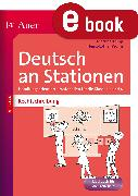 Cover-Bild zu Rechtschreibung an Stationen 3-4 (eBook) von Worm, Heinz-Lothar