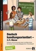 Cover-Bild zu Deutsch handlungsorientiert - 3./4. Klasse von Knipp, Martina