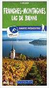 Cover-Bild zu Franches-Montagnes / Lac de Bienne 10 Wanderkarte 1:40 000 matt laminiert. 1:40'000 von Hallwag Kümmerly+Frey AG (Hrsg.)