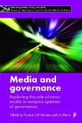 Cover-Bild zu Media and governance (eBook) von Schillemans, Thomas (Hrsg.)