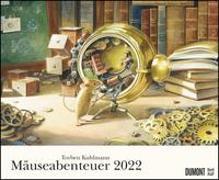 Cover-Bild zu Torben Kuhlmann Mäuseabenteuer 2022 - DUMONT Kinder-Kalender - Querformat 52 x 42,5 cm - Spiralbindung von Kuhlmann, Torben (Illustr.)