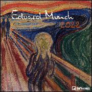 Cover-Bild zu Edvard Munch 2022 - Wand-Kalender - Broschüren-Kalender - 30x30 - 30x60 geöffnet - Kunst-Kalender von Munch, Edvard