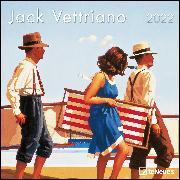Cover-Bild zu Jack Vettriano 2022 - Wand-Kalender - Broschüren-Kalender - 30x30 - 30x60 geöffnet - Kunst-Kalender von Vettriano, Jack