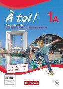 Cover-Bild zu À toi !, Fünfbändige Ausgabe, Band 1A, Carnet d'activités mit Audios online und eingelegtem Förderheft von Héloury, Michèle