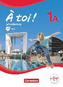 Cover-Bild zu À toi !, Fünfbändige Ausgabe, Band 1A, Schülerbuch - Lehrerfassung mit Video-DVD, Kartoniert