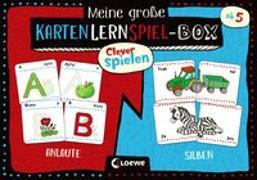Cover-Bild zu Clever spielen - Meine große KartenLernSpiel-Box - Anlaute/Silben von Loewe Lernen und Rätseln (Hrsg.)