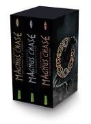 Cover-Bild zu Magnus Chase: Magnus-Chase-Schuber (3 Bände im Taschenbuch-Schuber) von Riordan, Rick