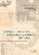 Cover-Bild zu Deutsch-russische Musikbegegnungen 1 (eBook) von Weiss, Stefan (Hrsg.)