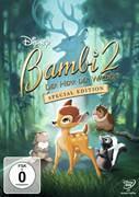 Cover-Bild zu Bambi 2 - Der Herr der Wälder - Special Edition von Pimental, Brian (Reg.)