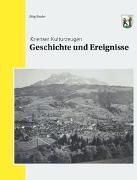 Cover-Bild zu Geschichte und Ereignisse von Studer, Jürg