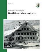 Cover-Bild zu Gasthäuser einst und jetzt von Studer, Jürg