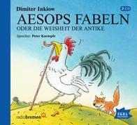Cover-Bild zu Aesops Fabeln oder Die Weisheit der Antike. 2 CDs von Inkiow, Dimiter