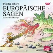 Cover-Bild zu Europäische Sagen von Inkiow, Dimiter