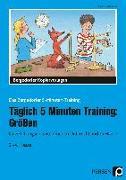 Cover-Bild zu Täglich 5 Minuten Training: Größen von Kirschbaum, Klara