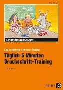 Cover-Bild zu Täglich 5 Minuten Druckschrift-Training von Hohmann, Karin