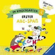 Cover-Bild zu Im Kindergarten: Allererster Abc-Spaß von Jebautzke, Kirstin
