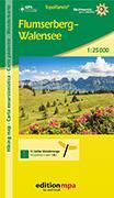 Cover-Bild zu Flumserberg - Walensee. Wanderkarte / Carte pédestre. 1:25'000