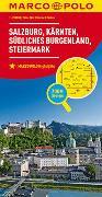 Cover-Bild zu MARCO POLO Regionalkarte Österreich Blatt 2 1:200 000. 1:200'000