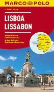 Cover-Bild zu MARCO POLO Cityplan Lissabon 1:15 000. 1:15'000