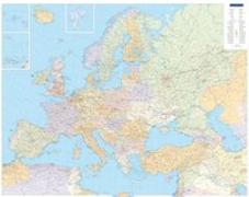 Cover-Bild zu Europa politisch, Poster. 1:4'500'000 von Hallwag Kümmerly+Frey AG (Hrsg.)