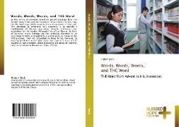Cover-Bild zu Words, Words, Words, and THE Word von Beck, Hubert