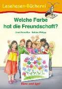 Cover-Bild zu Welche Farbe hat die Freundschaft? von Scheffler, Ursel