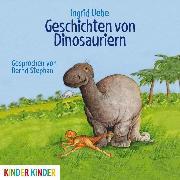 Cover-Bild zu Geschichten von Dinosauriern (Audio Download) von Uebe, Ingrid