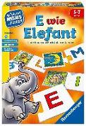 Cover-Bild zu E wie Elefant von Krause, Joachim (Illustr.)