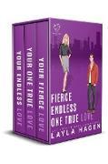 Cover-Bild zu Fierce, Endless, True (The Bennett Series Collection, #3) (eBook) von Hagen, Layla