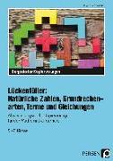 Cover-Bild zu Lückenfüller: Nat. Zahlen, Grundrechenarten, Terme von Penzenstadler, Brigitte
