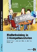 Cover-Bild zu Mathetraining in 3 Kompetenzstufen - 5./6. Klasse 01 (eBook) von Penzenstadler, Brigitte