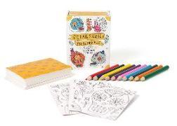 Cover-Bild zu Sugar Skulls Coloring Kit von Press, Running