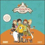 Cover-Bild zu Schule der magischen Tiere 2022 - Broschürenkalender für Kinder - Format 30 x 30 von Auer, Margit