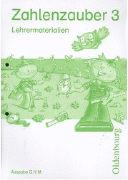 Cover-Bild zu Zahlenzauber, Mathematik für Grundschulen, Lehrermaterialien zu den Ausgaben G, H und M, 3. Schuljahr, Lehrermaterialien mit CD-ROM
