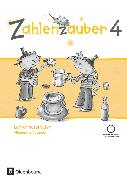 Cover-Bild zu Zahlenzauber, Mathematik für Grundschulen, Allgemeine Ausgabe 2016, 4. Schuljahr, Lehrermaterialien mit CD-ROM von Betz, Bettina