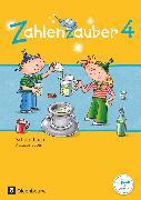 Cover-Bild zu Zahlenzauber, Mathematik für Grundschulen, Ausgabe Bayern 2014, 4. Jahrgangsstufe, Schülerbuch mit Kartonbeilagen von Betz, Bettina