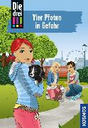 Cover-Bild zu Sol, Mira: Die drei !!!, 79, Vier Pfoten in Gefahr (drei Ausrufezeichen) (eBook)