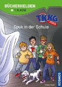 Cover-Bild zu Vogel, Kirsten: TKKG Junior, Bücherhelden 1. Klasse, Spuk in der Schule