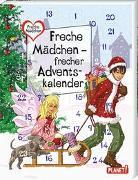 Cover-Bild zu Brinx: Freche Mädchen - freche Bücher!: Freche Mädchen - frecher Adventskalender