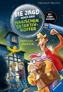 Cover-Bild zu Stronk, Cally: Die Jagd nach dem magischen Detektivkoffer, Band 2: Vorsicht, Ganoven!