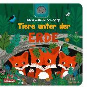 Cover-Bild zu Hofmann, Julia: Mein Zieh-Bilder-Spaß: Tiere unter der Erde