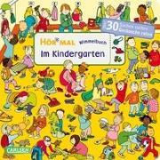 Cover-Bild zu Hofmann, Julia: Hör mal: Wimmelbuch: Im Kindergarten