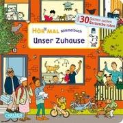 Cover-Bild zu Hofmann, Julia: Hör mal (Soundbuch): Wimmelbuch: Unser Zuhause