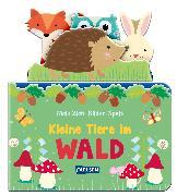 Cover-Bild zu Hofmann, Julia: Mein Zieh-Bilder-Spaß: Kleine Tiere im Wald