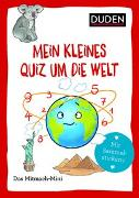 Cover-Bild zu Dudenredaktion: Duden Minis (Band 22) - Mein kleines Quiz um die Welt / VE 3
