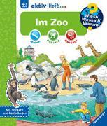 Cover-Bild zu Richter, Stefan (Illustr.): Wieso? Weshalb? Warum? aktiv-Heft: Im Zoo